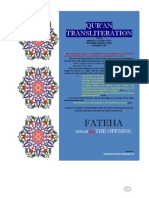 1. Surah AL-FATEHA [the Opening]
