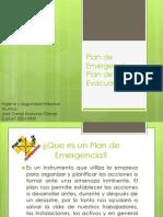Plan de Emergencia y Plan de Evacuación
