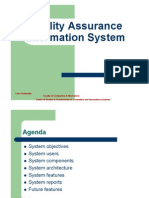 quality assurance information system