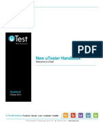 uTest uTester Handbook 10.29.13