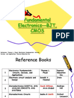 97 Digital Electronics Lecture1 Fundmental Electronics(BJT CMOS)