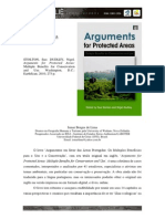 Arguments for Protected Areas Book Review Resenha by Ismar Lima