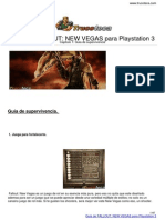 Guia Trucoteca Fallout New Vegas Playstation 3
