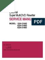LG super multi DVD rewriter service manual