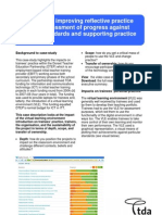Using a VLE- Imrpoving Reflective Practice and Self-Assessment of Progress Against the QTS Standards and Supporting Practice
