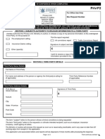 Criminal Check Form
