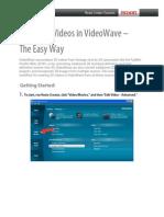 Create 3d Videos