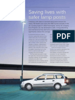 Life saving composite lamp posts