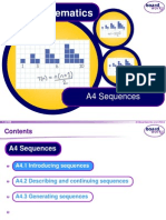 Year 8 Sequences