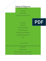 PPT of Introduction of Primavera
