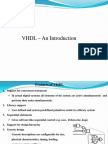 manual for VHDL module for Embedded Lab