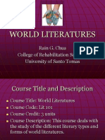 World Literatures