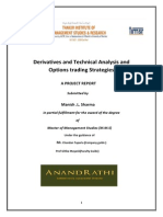 Project on Derivatives  and Technical Analysis