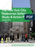 NYC Pedestrian Safety Study Action Plan August 2010