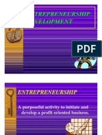 Entrepreneurship & Development