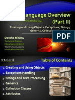4 Csharp Language Overview Part II 120201085223 Phpapp02