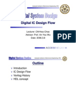 20060308 IC Design Flow