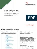 Bribery Act - Louise Thompson
