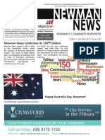 Newman News Jan/Feb 2014 Edition