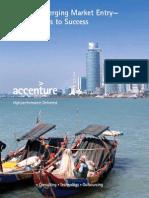 Accenture Emerging Market Entry