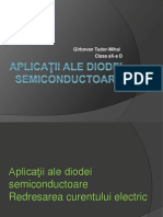aplicati ale diodei semiconductoare