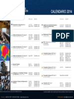 Immp2014 - Calendario Instituto Mexicano de Mantenimiento Predictivo