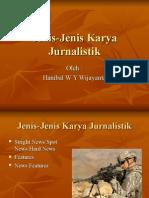 02 Jenis Jenis Karya Jurnalistik