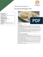 Baked Lemon Meringue Tart