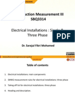 Topic 4 Elelectric home ectrical Installations