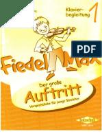 Fiedel Max Der droße Autritt 1 Klavier