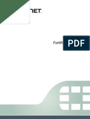 Forti Recorder Handbook Revision