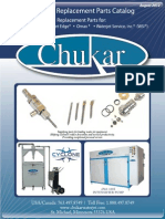 Chukar Waterjet Parts Catalog