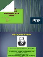 Theories of Instructional Management-jacob Kounin