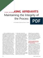 Cmk Affidavit Article