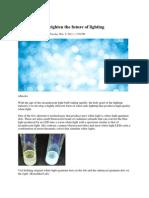 QDs White Light Semiconductor Materials Sandra