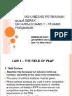 Undang-undang Permainan Bola Sepak
