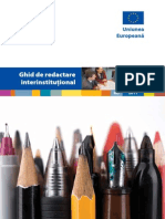 Interinstitutional Style Guide Ro