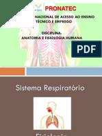 PRONATEC - Anatomia - Fisiologia respiratória