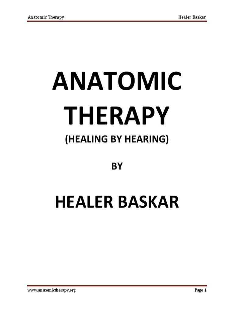 Anatomic Therapy by Healer Baskar | Cough | Tuberculosis