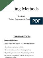 S8 Training Methods