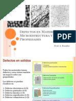 Tema 2 Defectos en Materiales