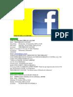 Toques Del Facebook
