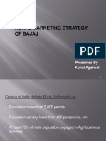 Bajaj Auto Rural Marketing