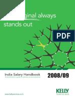 India Salary Handbook 2008 09