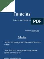 Fallacies - Franz Van Eemeren