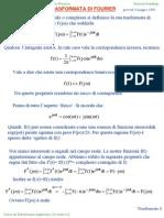 02 - Trasformata Di Fourier & Laplace