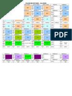 Plano de Estudo 2014