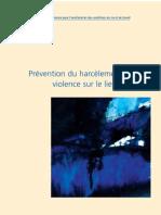 Fondation de lutte contre l'harcèlement sexuel