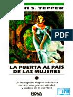 Sheri S. Tepper - La Puerta Al Pais de Las Mujeres