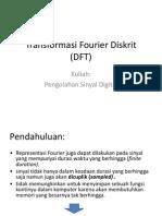Diskrit Transformasi Fourier